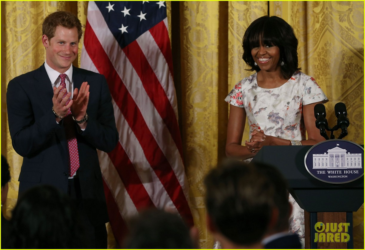 prince harry visits washington dc meets michelle obama 172867449