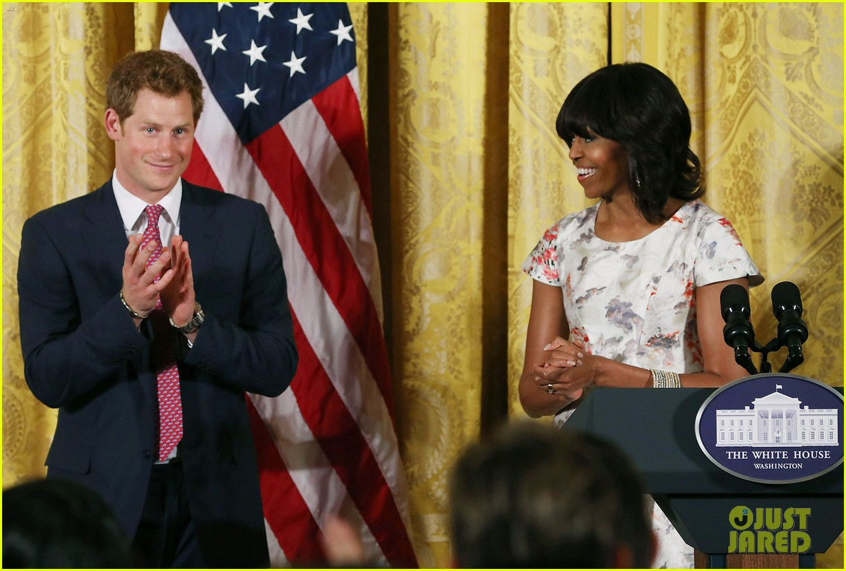 prince harry visits washington dc meets michelle obama 222867454