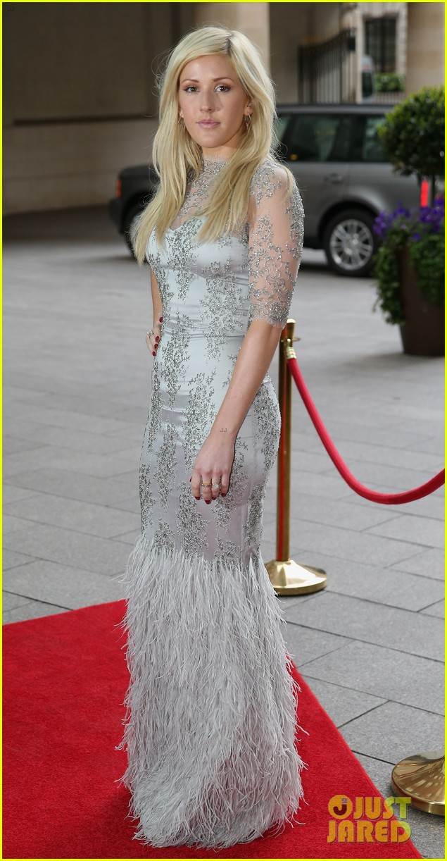 prince harry ellie goulding walking with the wounded gala 012881089