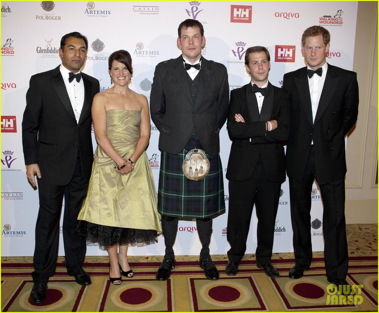 prince harry ellie goulding walking with the wounded gala 032881091