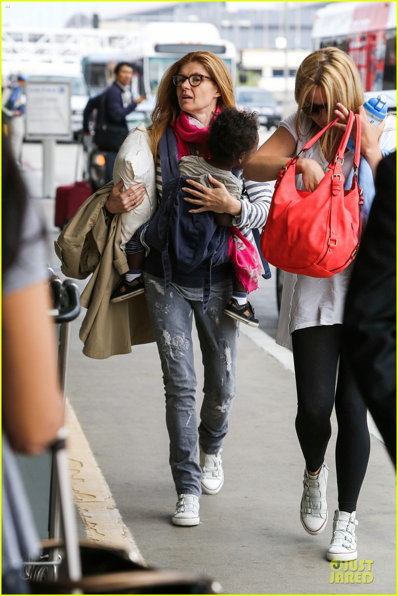 hayden panettiere conne britton memorial day weekend lax departures 052877969