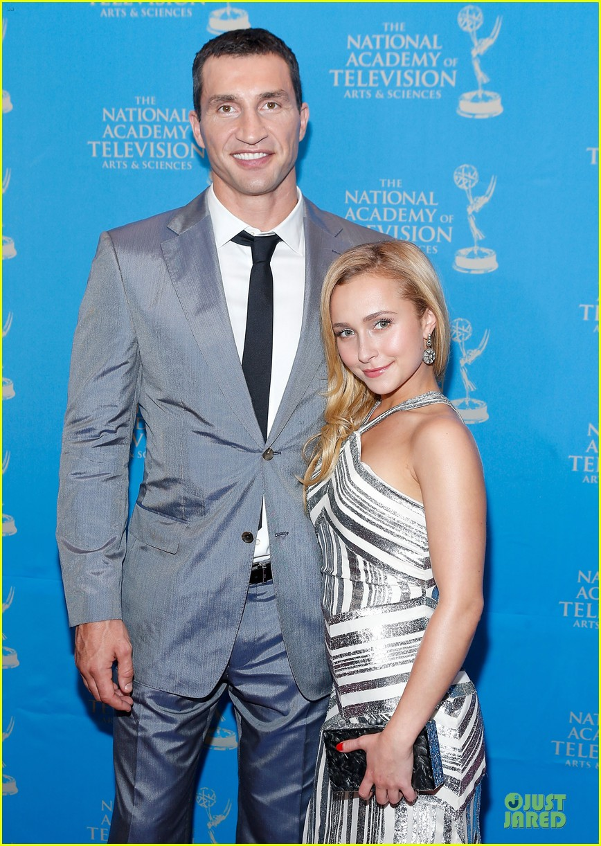 hayden panettiere wladimir klitschko sports emmy awards reception 022866328