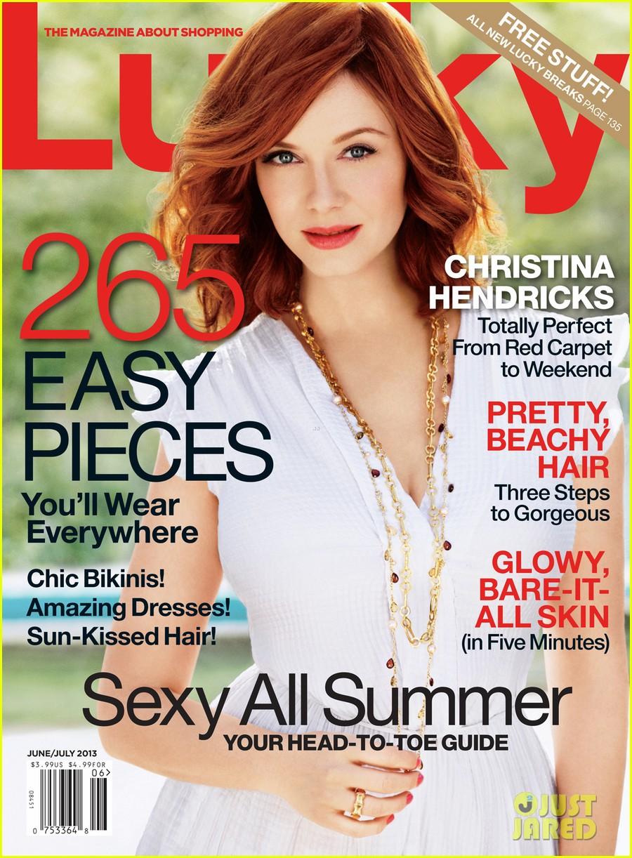 christina hendricks covers lucky june july 2013 012870993