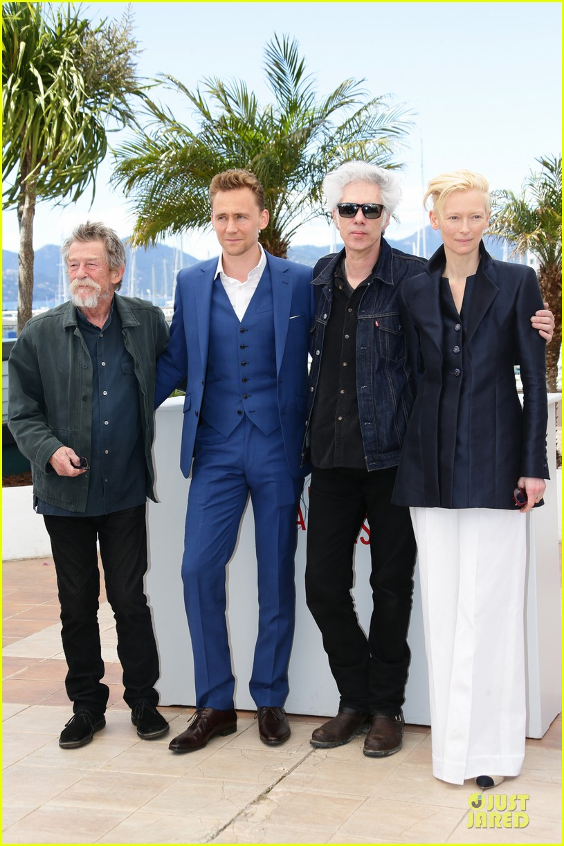 tom hiddleston tilda swinton only lovers left alive cannes photo call 032877849