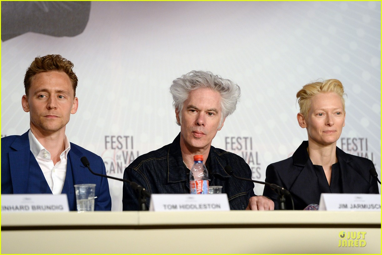 tom hiddleston tilda swinton only lovers left alive cannes photo call 052877851