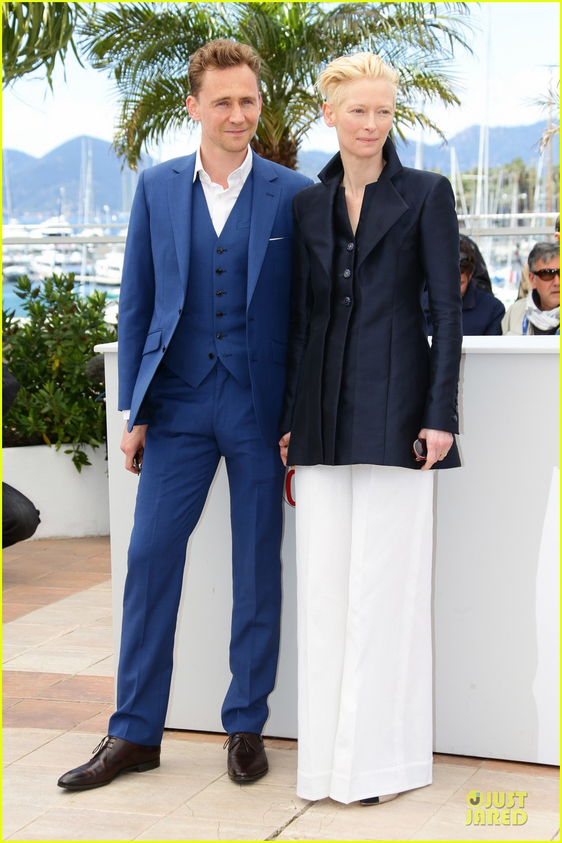 tom hiddleston tilda swinton only lovers left alive cannes photo call 142877860