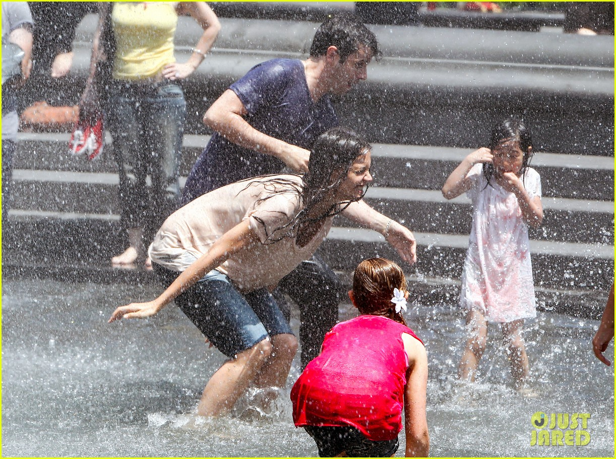 katie holmes soaking wet for mania days 052875542