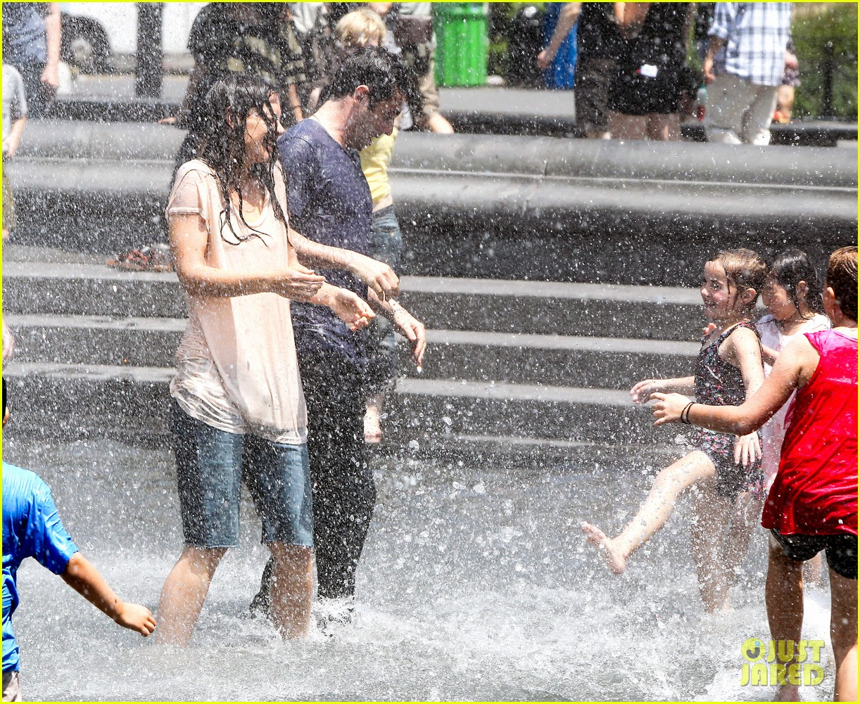 katie holmes soaking wet for mania days 252875562