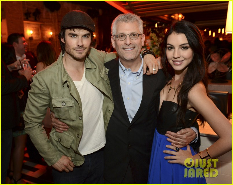 ian somerhalder nina dobrev cw upfronts party 092872399