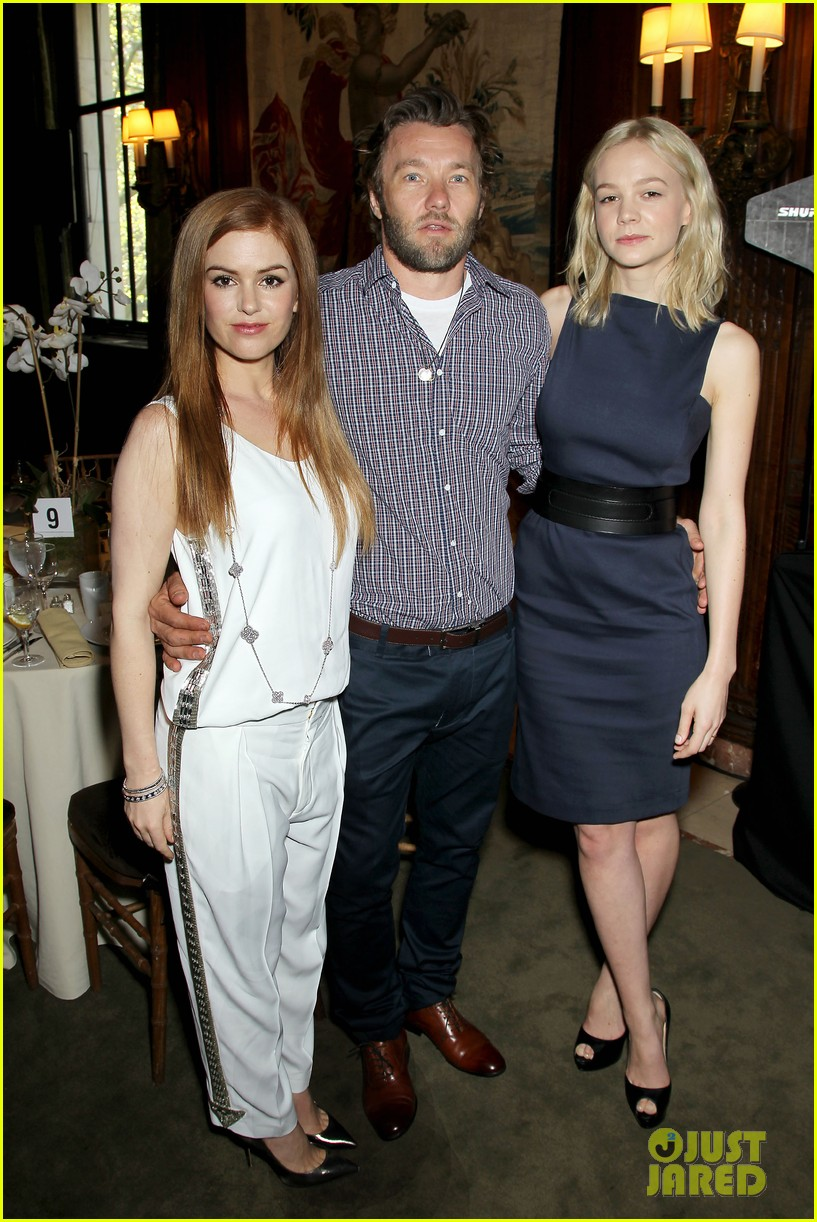 isla fisher carey mulligan great gatsby luncheon 032862548