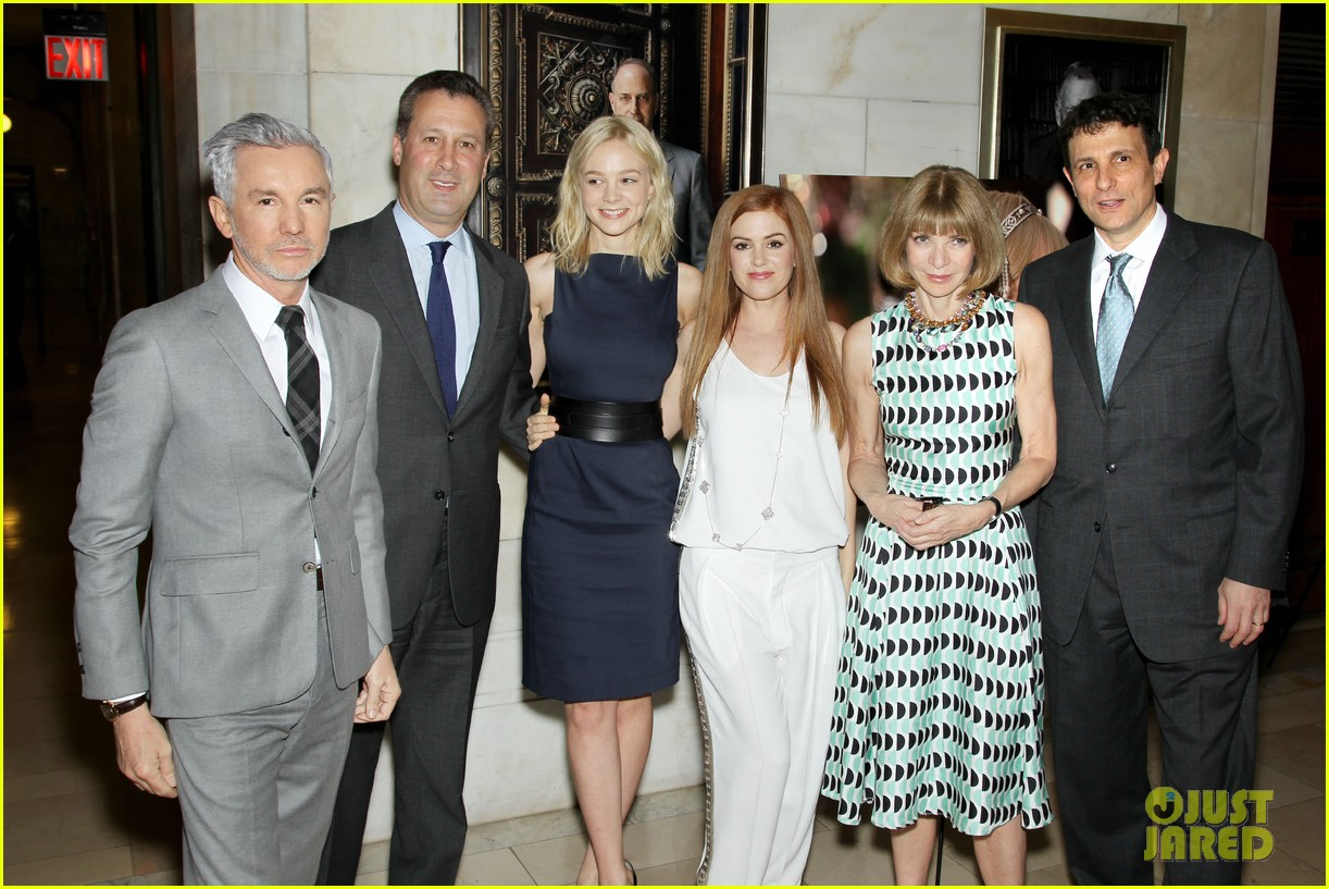 isla fisher carey mulligan great gatsby luncheon 202862565