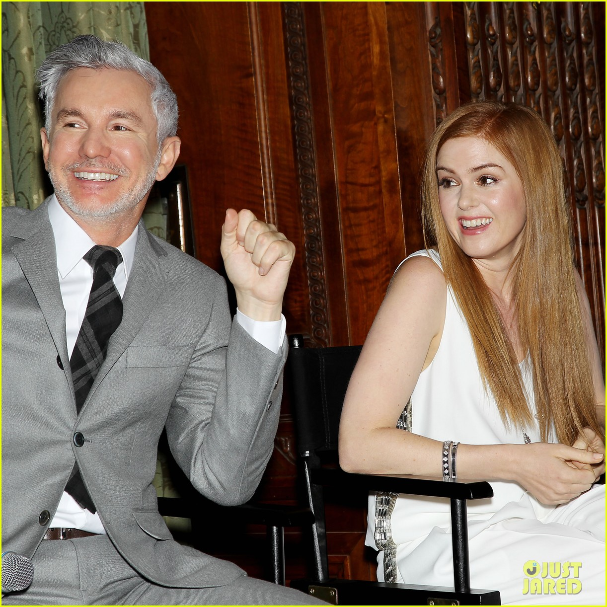 isla fisher carey mulligan great gatsby luncheon 34