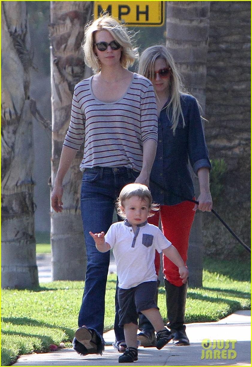 january jones xander walks in front of mommy 072869201