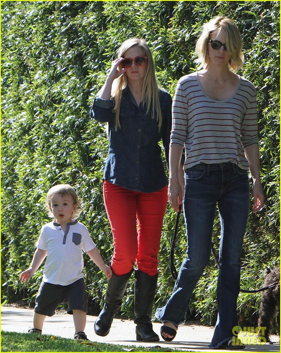 january jones xander walks in front of mommy 102869204