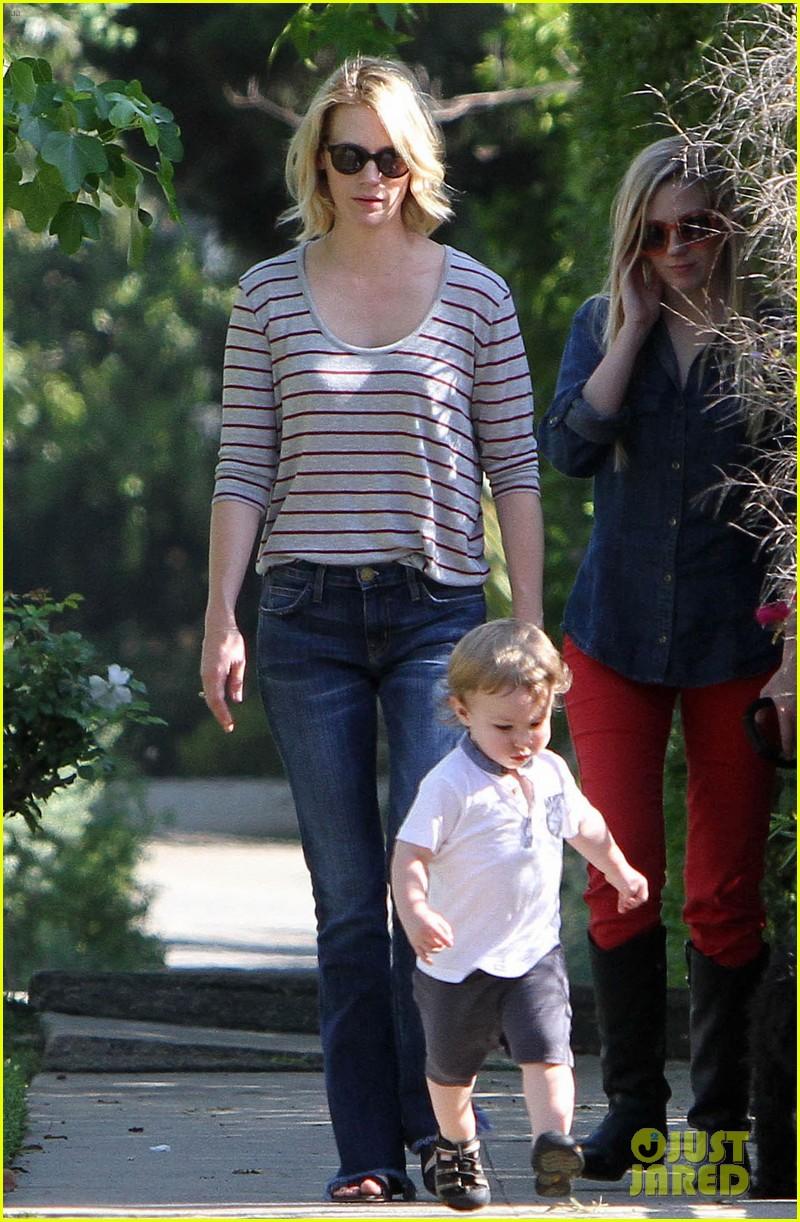 january jones xander walks in front of mommy 112869205