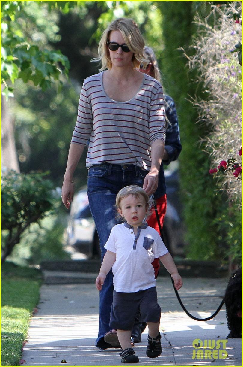 january jones xander walks in front of mommy 162869210