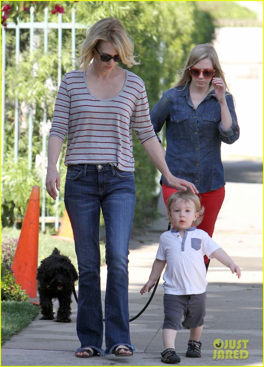 january jones xander walks in front of mommy 232869217