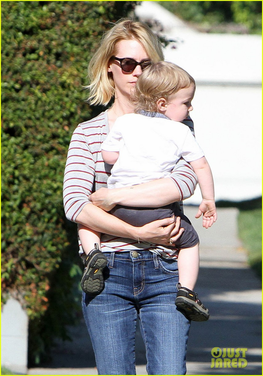 january jones xander walks in front of mommy 282869222