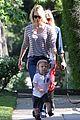 january jones xander walks in front of mommy 14