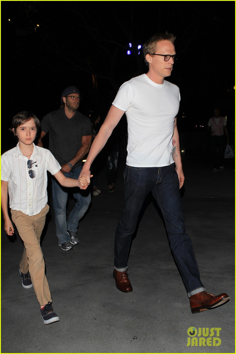 jennifer connelly paul bettany rolling stones concert with the kids 132864065
