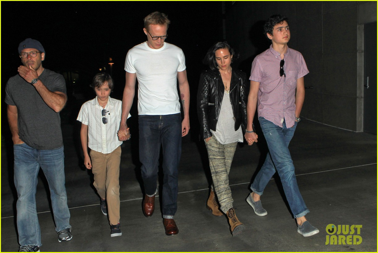 jennifer connelly paul bettany rolling stones concert with the kids 142864066