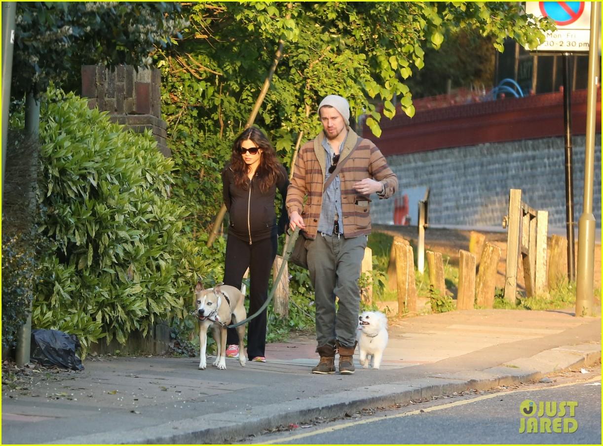 channing tatum jenna dewan take a dog walk following vet visit 062879105