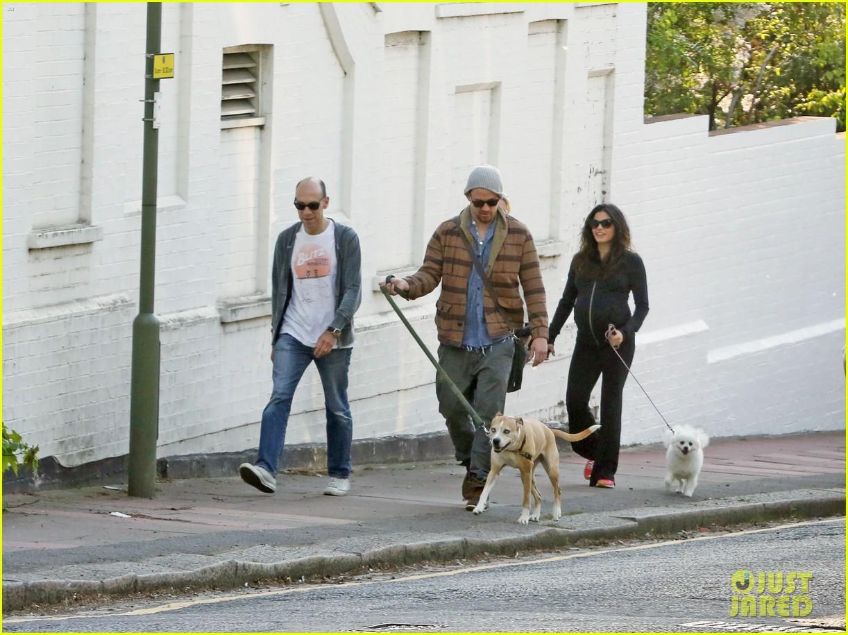 channing tatum jenna dewan take a dog walk following vet visit 082879107