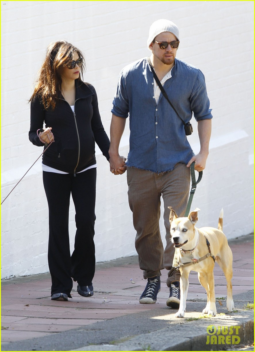 channing tatum jenna dewan take a dog walk following vet visit 172879116