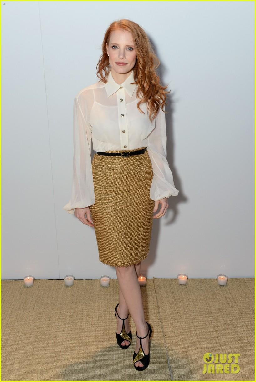 jessica chastain vanity fair chanel dinner at cannes 012873780