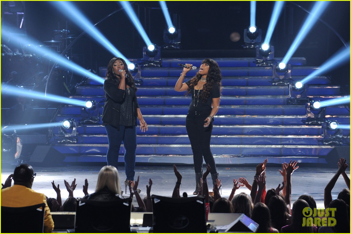 candice glover jennifer hudson duet on idol finale video 012872019