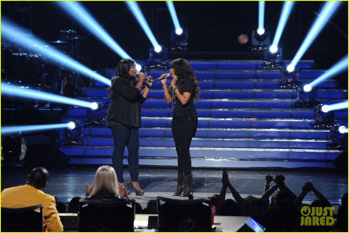 candice glover jennifer hudson duet on idol finale video 022872020