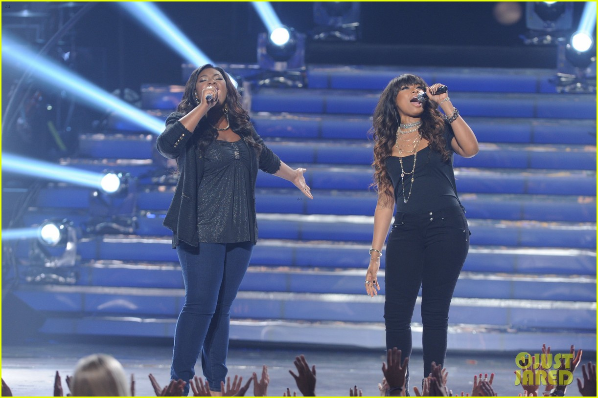 candice glover jennifer hudson duet on idol finale video 03