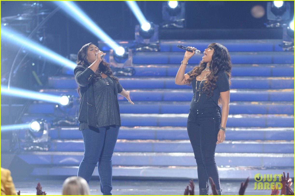 candice glover jennifer hudson duet on idol finale video 042872022
