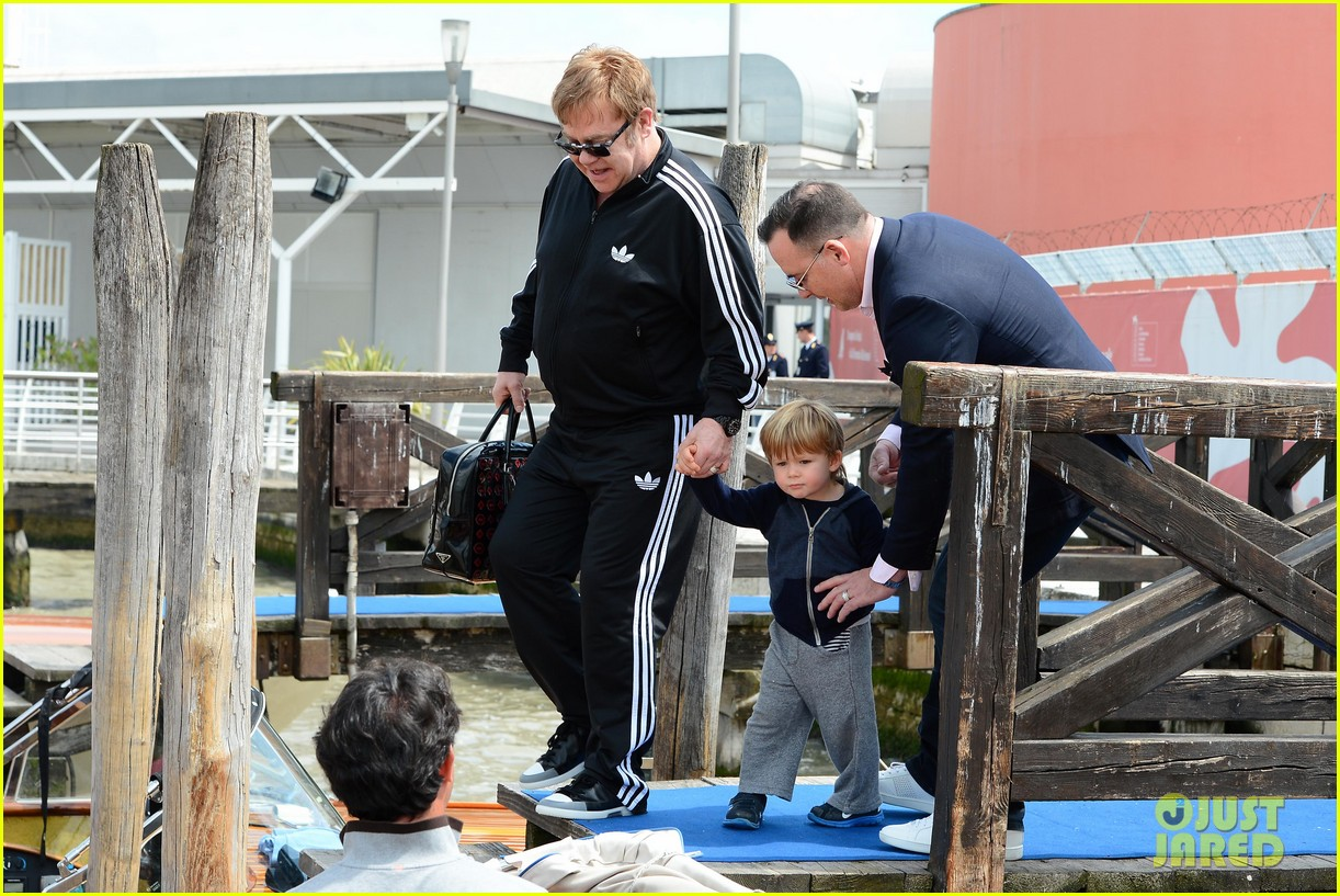 elton john david furniss family trip with zachary elijah 072879968