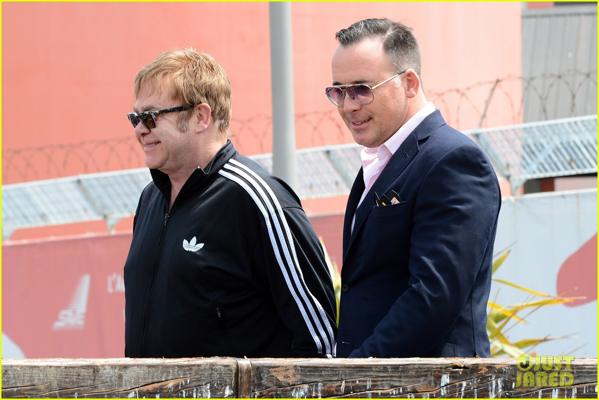 elton john david furniss family trip with zachary elijah 232879984