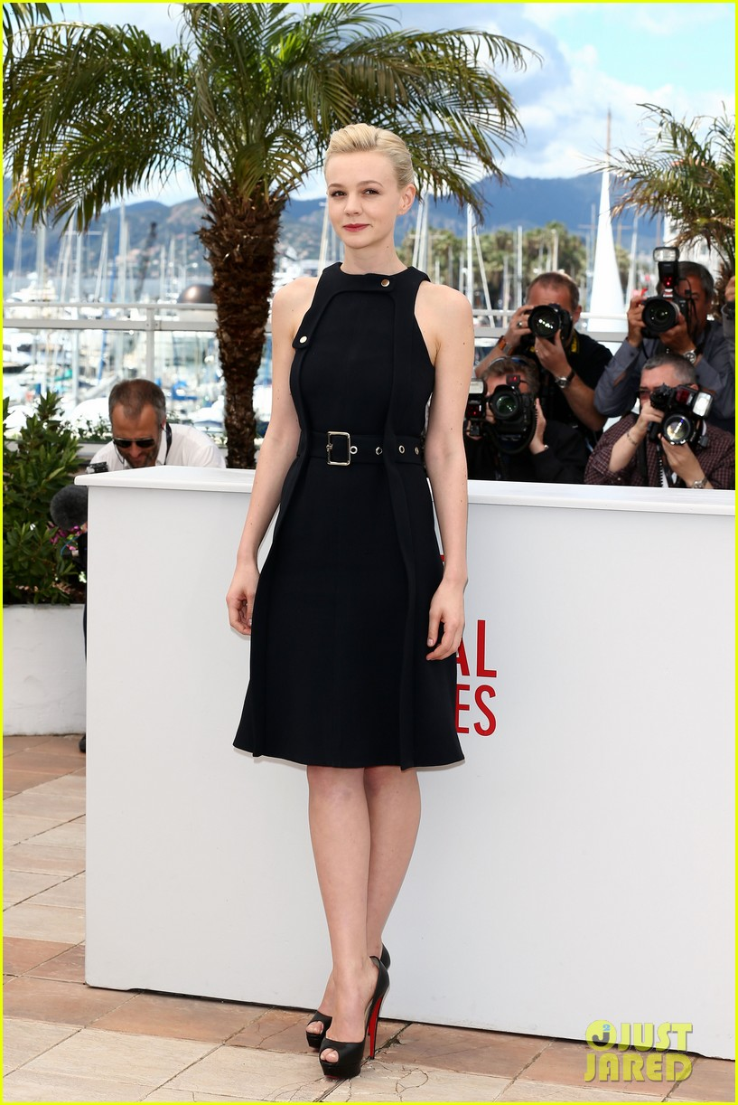 justin timberlake carey mulligan inside llewyn davis cannes photo call 01