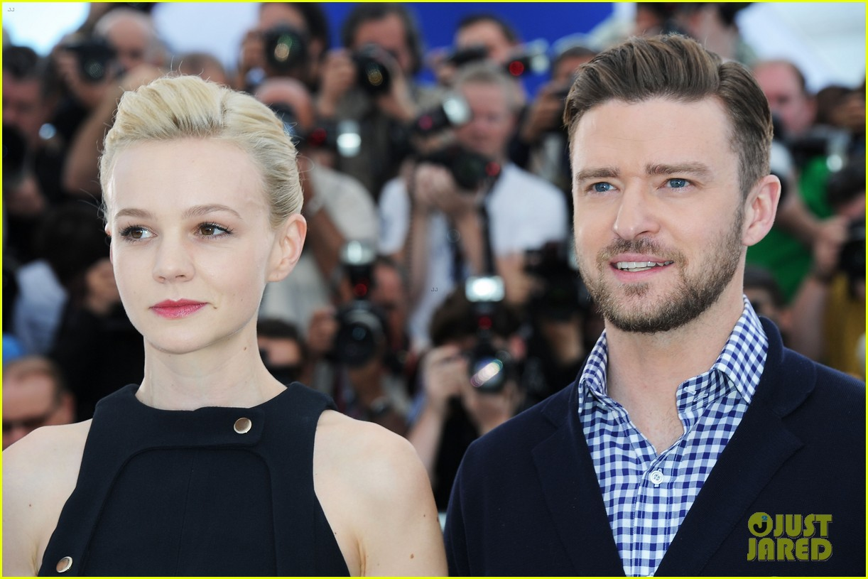 justin timberlake carey mulligan inside llewyn davis cannes photo call 11