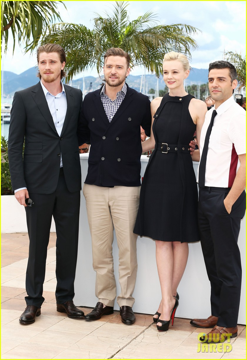 justin timberlake carey mulligan inside llewyn davis cannes photo call 202873388
