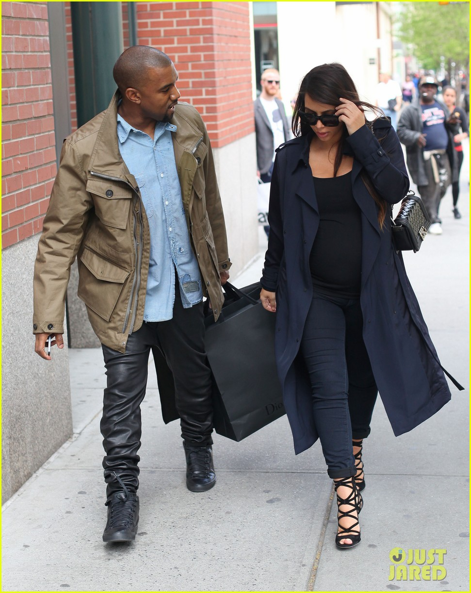 kim kardashian kanye west dine at anna wintours home pre met ball 012864900