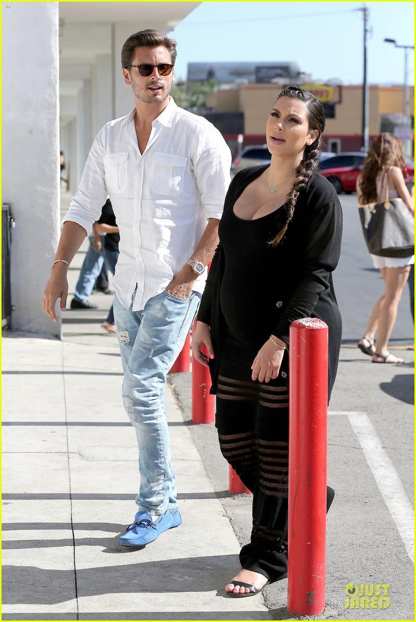kim kardashian sheer baby bump celebration 062870620