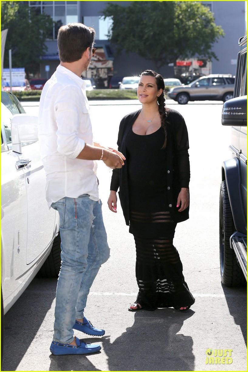 kim kardashian sheer baby bump celebration 162870630