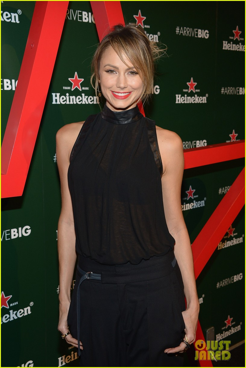 stacy keibler ashley tisdale heineken star bottle eventdsafds 142867768