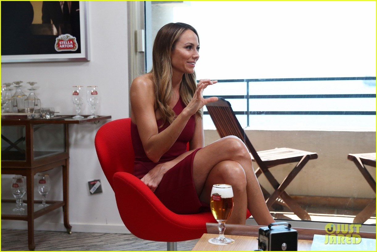 stacy keibler paul wesley stella artois suite at cannes 052876192