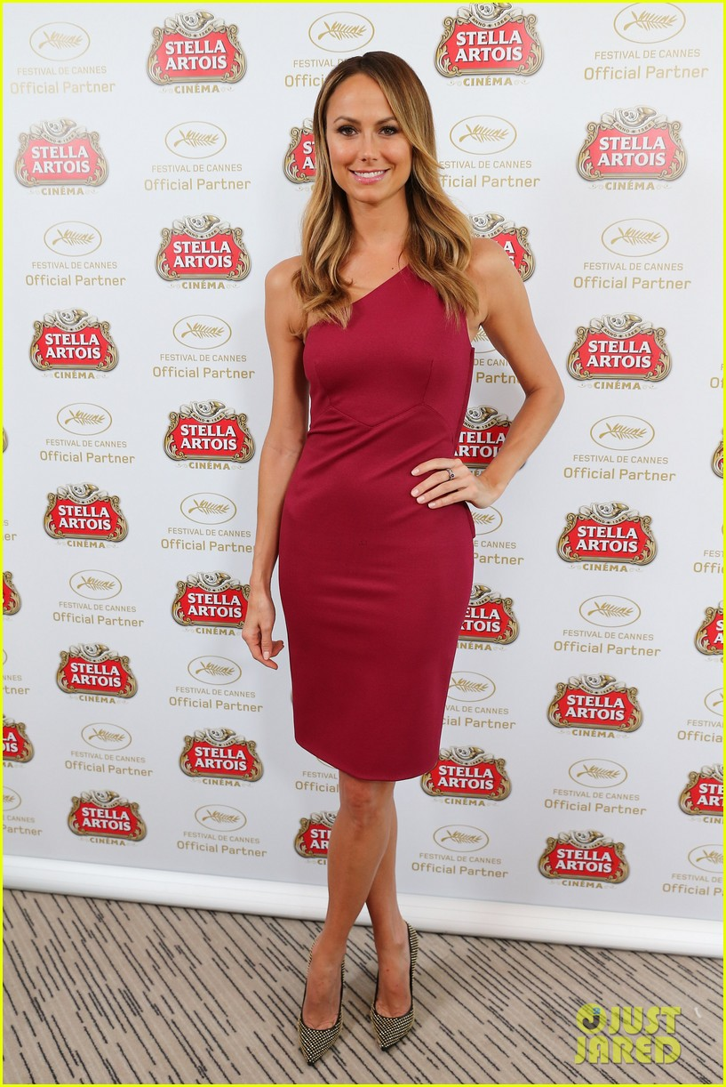stacy keibler paul wesley stella artois suite at cannes 072876194