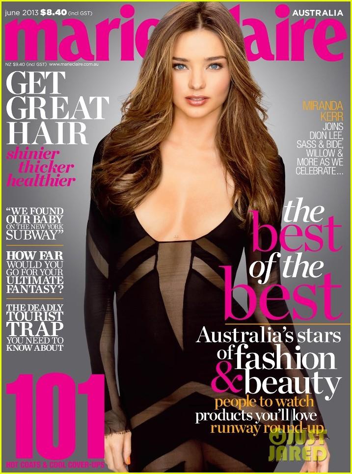 miranda kerr covers marie claire australia june 2013 01