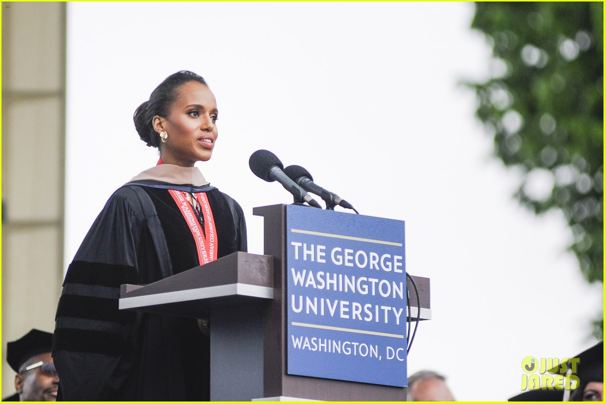 kerry washington receives george washington university honorary degree 032873731