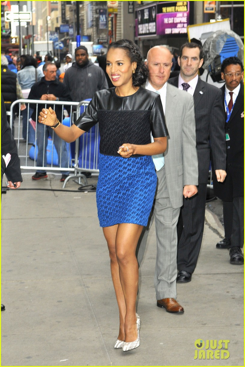 kerry washington good morning america appearance 032864937