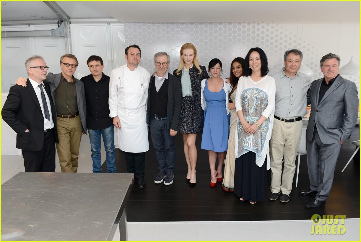 nicole kidman cannes grand jury lunch with steven spielberg 032876352