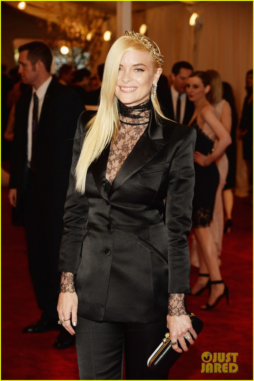 jaime king ashley madekwe met ball 2013 red carpet 022865649
