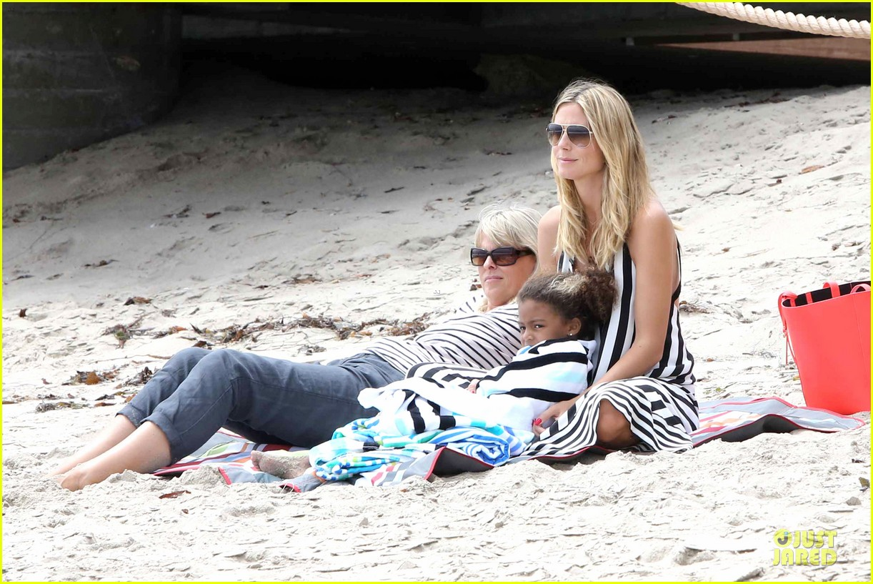 heidi klum martin kirsten pda weekend couple 462875108